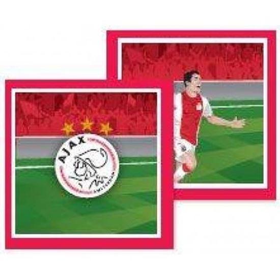Afbeelding van Ajax servetten 20 stuks