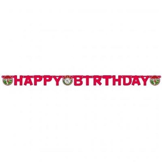 Afbeelding van Ajax letterslinger Happy Birthday