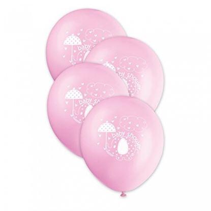 Afbeeldingen van Babyshower ballonnen Olifant Roze