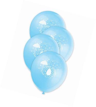 Afbeeldingen van Babyshower ballonnen Olifant blauw