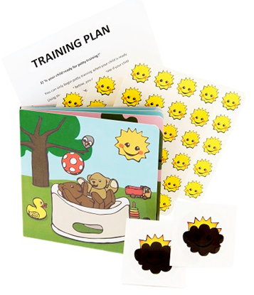 Afbeeldingen van Magic Potty training kit