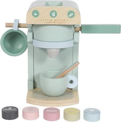 Afbeeldingen van Little Dutch houten koffiezetapparaat 10 delig