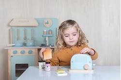 Afbeelding van Little Dutch houten broodrooster 10 delig