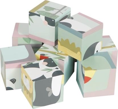 Afbeeldingen van Little Dutch Houten blokpuzzel dierentuin