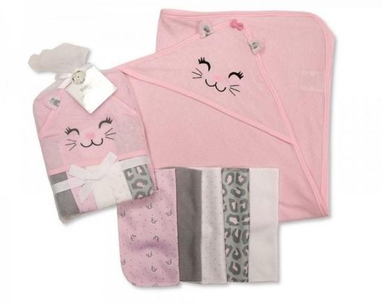 Afbeelding van Baby kadoset roze 6 delig