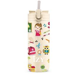 Afbeelding van Izy Bottle Kids Geel School