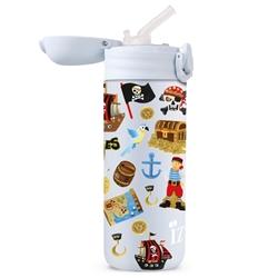 Afbeelding van Izy Bottle Kids Blauw Piraten