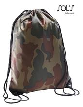 Afbeelding van Gymtas met Naam Camouflage
