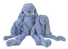 Afbeelding van Happy Horse Konijn Rabbit Richie Deep Blue bedrukt met Naam